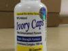 Thuốc Ivory Caps Glutathione 160 viên trắng da, trị nám, tàn nhang của USA