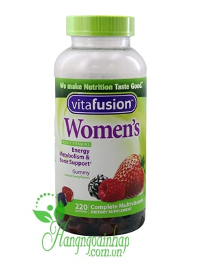 keo-deo-vitamin-vitafusion-women-is-multivitamin-220-vien-cho-nu-min