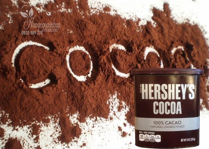bot-cacao-hershey's-khong-duong-hop-226-g