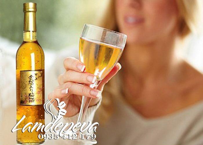 tác dụng của rượu mơ vẩy vàng