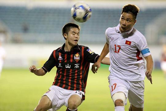 U19 Việt Nam đã thể hiện được sự lấn át ngay từ những phút đầu tiên