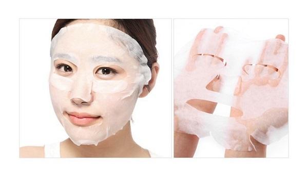 Sử dụng mặt nạ giấy giá rẻ