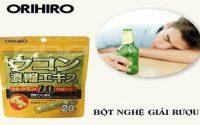 Review bột nghệ giải rượu orihiro có thực sự tốt không từ CE