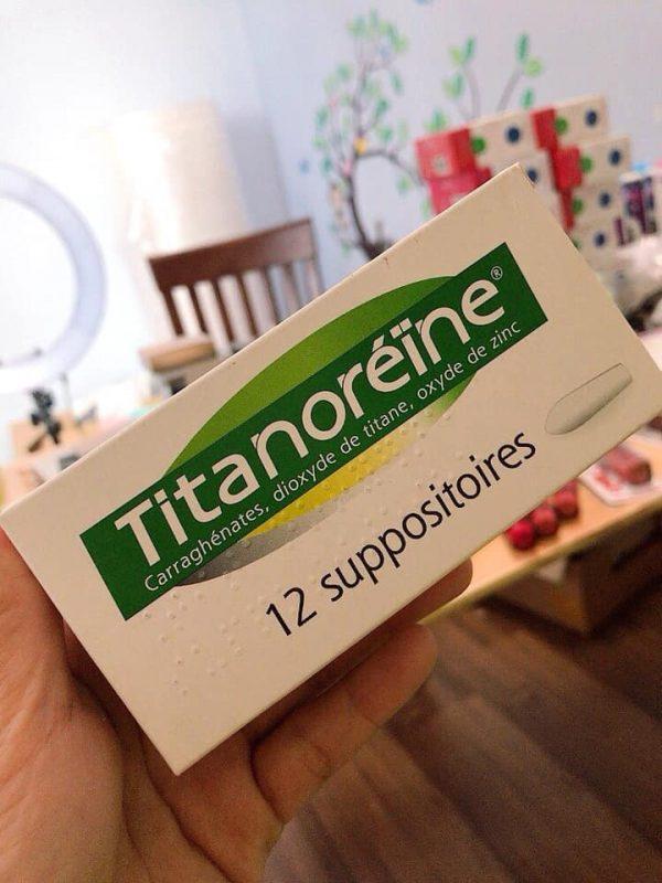 Thuốc đặt trĩ Titanoreine review có tốt không?