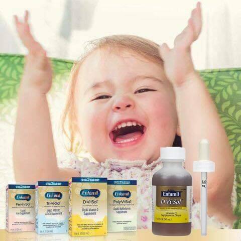 Enfamil d-vi-sol vitamin d REVIEW tốt không? và giá bán