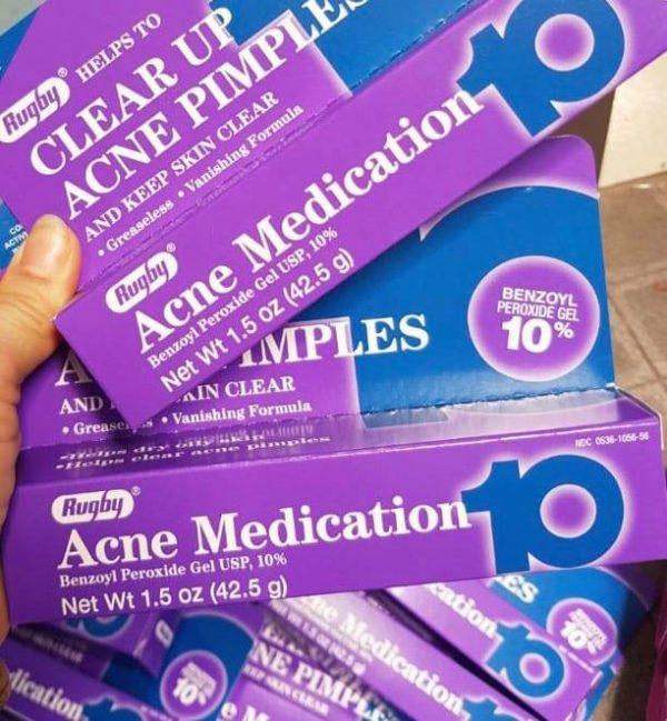 Kem trị mụn acne medication 10 có tốt không? Review từ chuyên gia