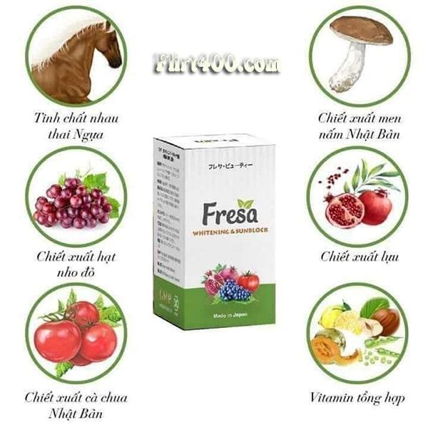 Vậy viên uống chống nắng Fresa có tốt không? có điều gì đặc biệt khiến sản phẩm trở nên ưu tú như vậy?