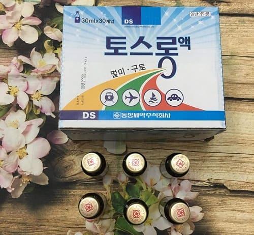 Review nước uống chống say tàu xe DongSung của Hàn Quốc-3