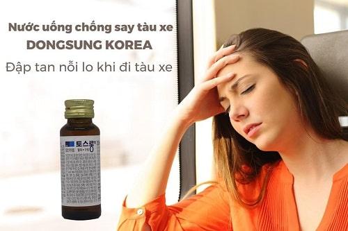 Review nước uống chống say tàu xe DongSung của Hàn Quốc-5