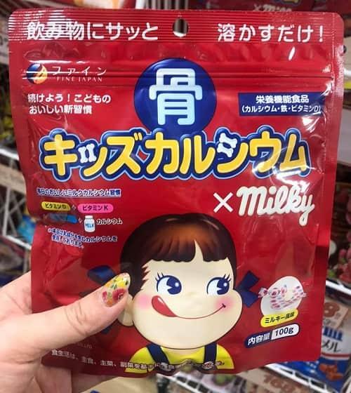 Review bột canxi cá tuyết Milky 140g của Nhật Bản-2