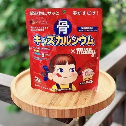 Review bột canxi cá tuyết Milky 140g của Nhật Bản-3