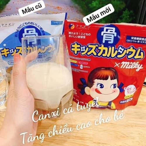 Review bột canxi cá tuyết Milky 140g của Nhật Bản-4