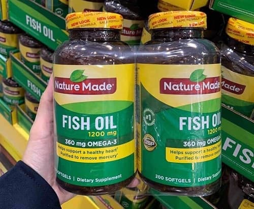 Review viên uống Nature Made Fish Oil 1200mg Omega-3 360mg-2