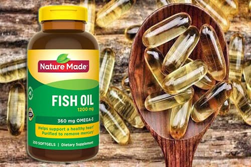 Review viên uống Nature Made Fish Oil 1200mg Omega-3 360mg-4