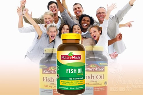 Review viên uống Nature Made Fish Oil 1200mg Omega-3 360mg-5
