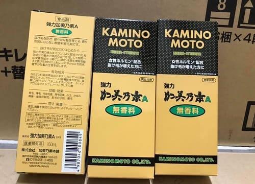 Cách sử dụng thuốc mọc tóc Kaminomoto Higher Strength-1