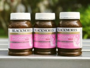 Vitamin bầu Blackmores Pregnancy and Breastfeeding Gold review-1