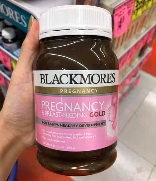 Vitamin bầu Blackmores Pregnancy and Breastfeeding Gold review-2