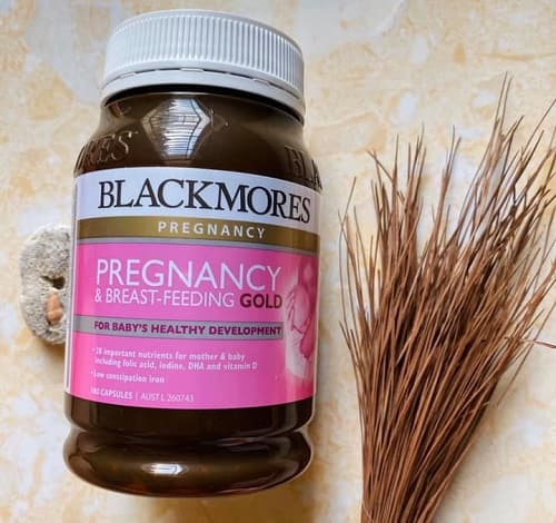 Vitamin bầu Blackmores Pregnancy and Breastfeeding Gold review-3