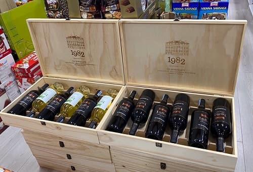 Review set rượu vang 1982 UG Bordeaux của Pháp-1