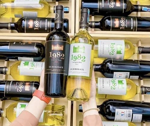Review set rượu vang 1982 UG Bordeaux của Pháp-2