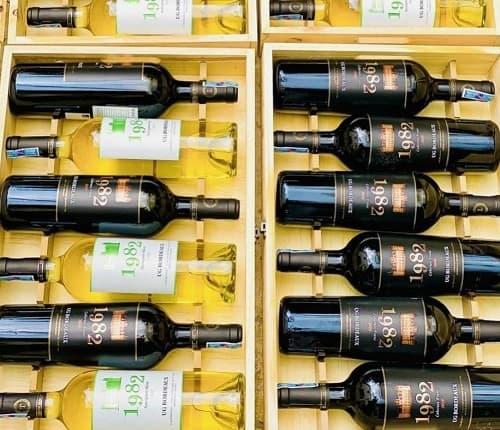 Review set rượu vang 1982 UG Bordeaux của Pháp-5