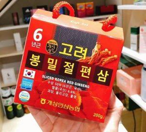 Sliced Korea Red Ginseng 200g giá bao nhiêu?-`