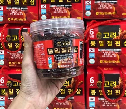 Sliced Korea Red Ginseng 200g giá bao nhiêu?-2