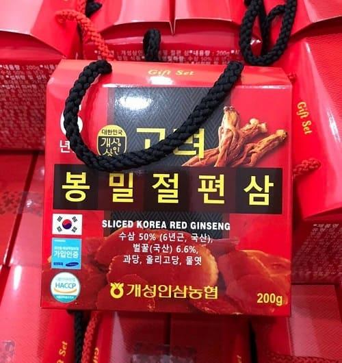 Sliced Korea Red Ginseng 200g giá bao nhiêu?-3