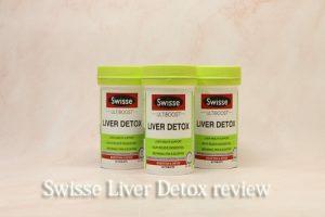 Viên uống Swisse Liver Detox review đánh giá chi tiết-1