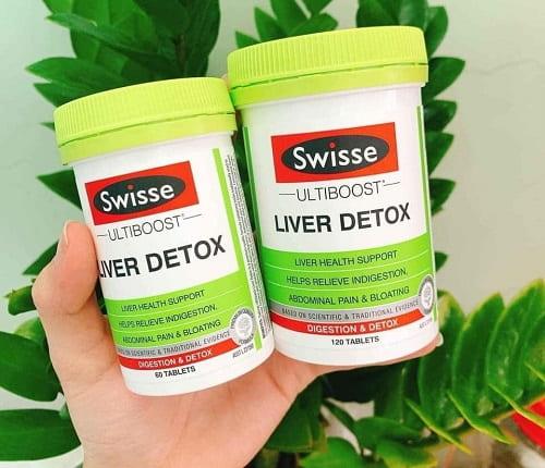 Viên uống Swisse Liver Detox review đánh giá chi tiết-2