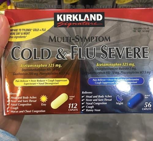 Kirkland Cold & Flu Multi-Symptom là thuốc gì?-2