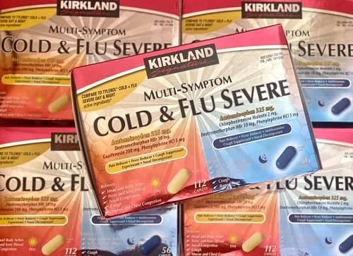 Kirkland Cold & Flu Multi-Symptom là thuốc gì?-3