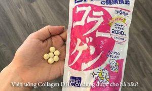 Viên uống Collagen DHC có dùng được cho bà bầu?-1