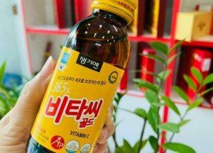 Nước uống Vitamin C 365x Hàn Quốc có tác dụng gì?-1
