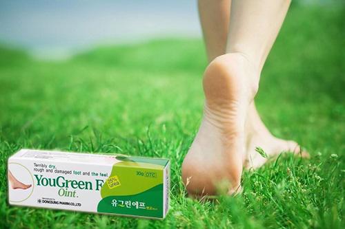 Review kem trị nứt gót chân Hàn Quốc - YouGreen F Oint-5