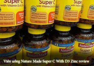Viên uống Nature Made Super C With D3 Zinc review-1