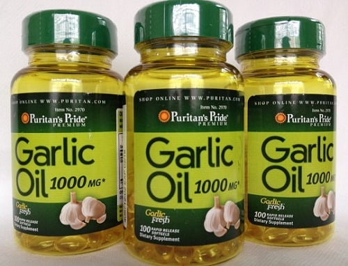 Viên dầu tỏi Puritan's Pride Odorless Garlic review-1