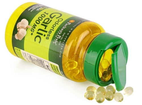 Viên dầu tỏi Puritan's Pride Odorless Garlic review-4