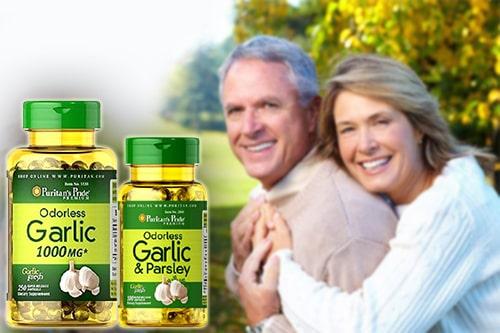 Viên dầu tỏi Puritan's Pride Odorless Garlic review-5