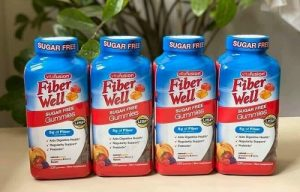 Kẹo dẻo Vitafusion Fiber Well Sugar Free Gummies review-1
